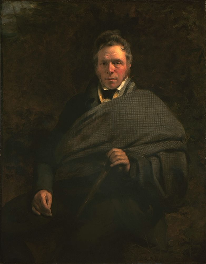 Painting of James Hogg, poet and novelist (1770-1835)